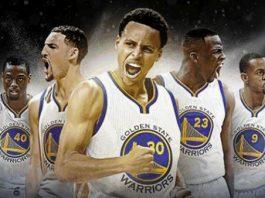 Los Golden State Warrios favoritos para conquistar el título de campeón NBA 2018 2019
