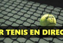 Donde ver partidos de tenis en directo por internet