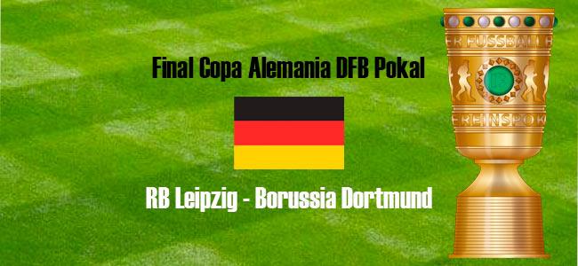 Apuestas Final Copa Alemania RB Leipzig vs Borussia Dortmund