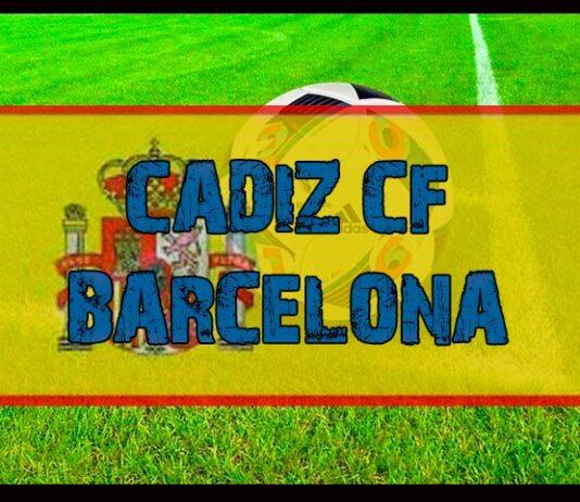 Apuestas y pronóstico Cádiz vs Barcelona hoy jueves 23 de septiembre la Liga Española