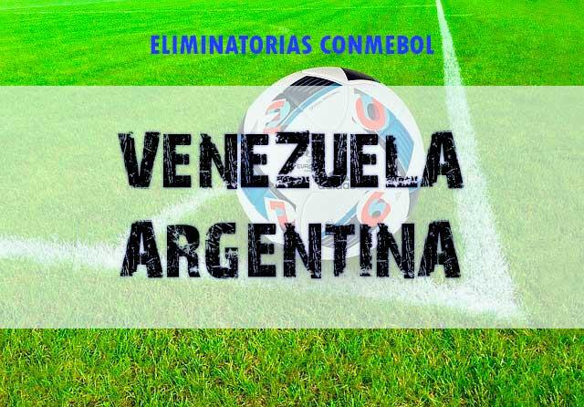 Apuestas Venezuela vs Argentina hoy jueves 2 septiembre eliminatorias conmebol